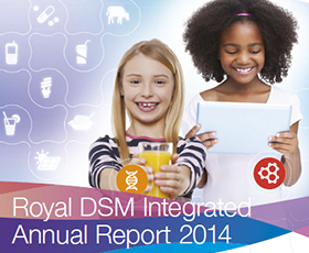 DSM Integrated annual report 2014 280x230 .png